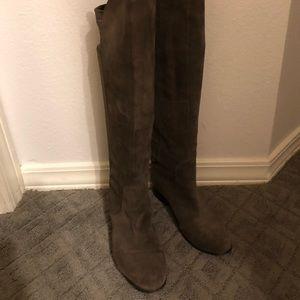 Charles David grey tall boots